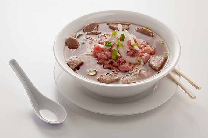 Beef Noodle Soup available at Lan Vietnamese Express in Parksville, BC