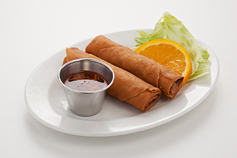 Spring rolls available at Lan Vietnamese Express in Parksville, BC