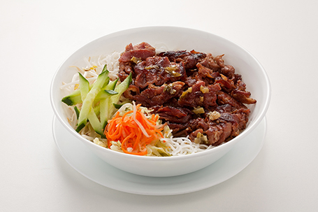 Grilled pork with vermicelli available at Lan Vietnamese Express in Parksville, BC